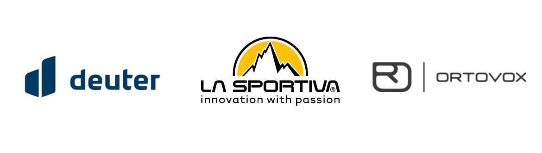 La Sportiva, Deuter, Ortovox